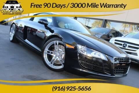 2012 Audi R8 for sale at West Coast Auto Sales Center in Sacramento CA