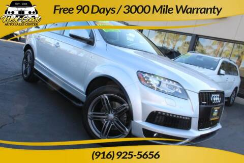 2015 Audi Q7 for sale at West Coast Auto Sales Center in Sacramento CA