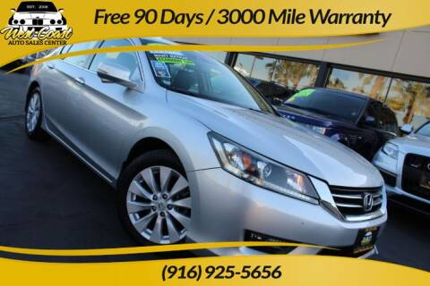 2015 Honda Accord for sale at West Coast Auto Sales Center in Sacramento CA