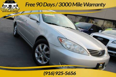 2006 Toyota Camry for sale at West Coast Auto Sales Center in Sacramento CA