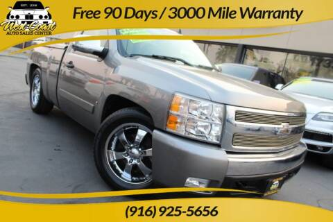 2007 Chevrolet Silverado 1500 for sale at West Coast Auto Sales Center in Sacramento CA