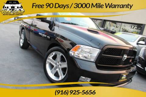 2011 RAM Ram Pickup 1500 for sale at West Coast Auto Sales Center in Sacramento CA