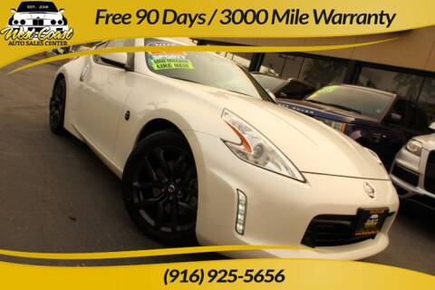 2015 Nissan 370Z for sale at West Coast Auto Sales Center in Sacramento CA