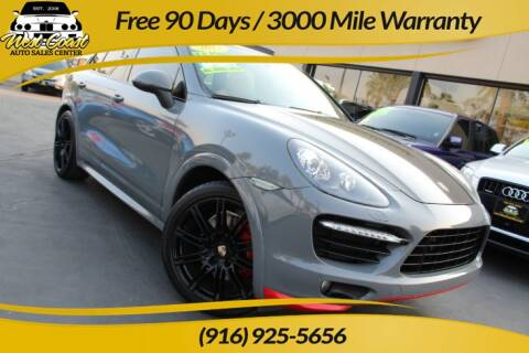 2013 Porsche Cayenne for sale at West Coast Auto Sales Center in Sacramento CA