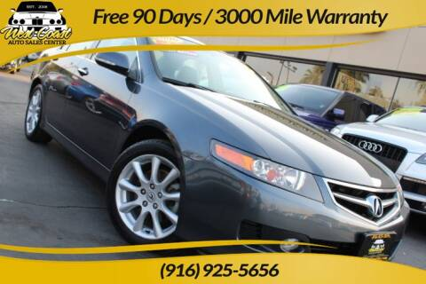 2006 Acura TSX for sale at West Coast Auto Sales Center in Sacramento CA