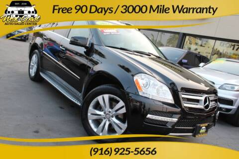 2012 Mercedes-Benz GL-Class for sale at West Coast Auto Sales Center in Sacramento CA