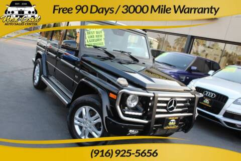 2015 Mercedes-Benz G-Class for sale at West Coast Auto Sales Center in Sacramento CA