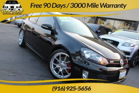 2010 Volkswagen GTI for sale at West Coast Auto Sales Center in Sacramento CA