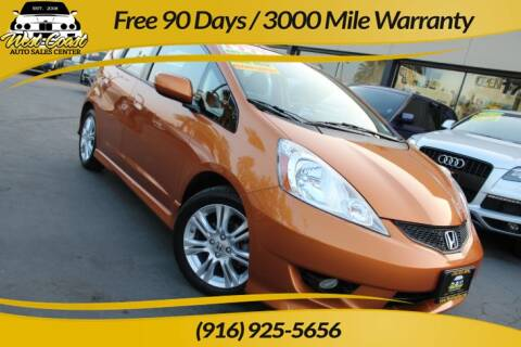 2009 Honda Fit for sale at West Coast Auto Sales Center in Sacramento CA