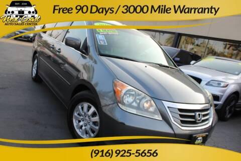 2010 Honda Odyssey for sale at West Coast Auto Sales Center in Sacramento CA