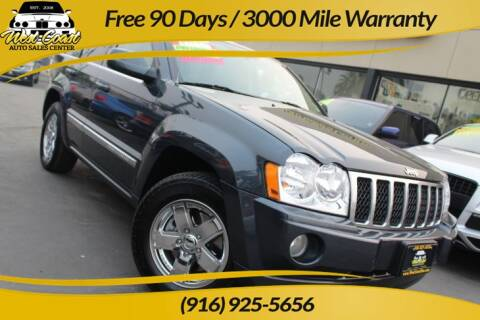 2007 Jeep Grand Cherokee for sale at West Coast Auto Sales Center in Sacramento CA