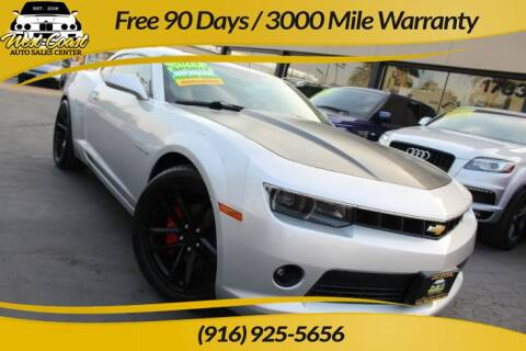2014 Chevrolet Camaro for sale at West Coast Auto Sales Center in Sacramento CA