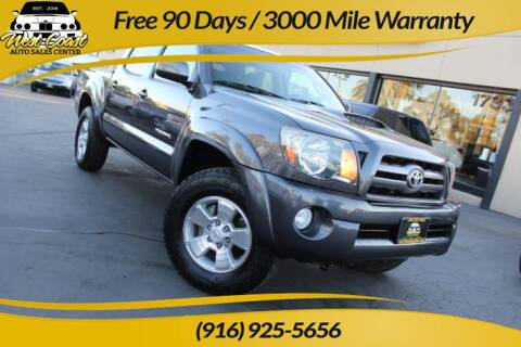 2010 Toyota Tacoma for sale at West Coast Auto Sales Center in Sacramento CA