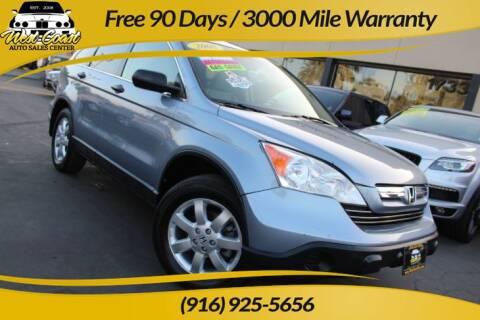 2008 Honda CR-V for sale at West Coast Auto Sales Center in Sacramento CA