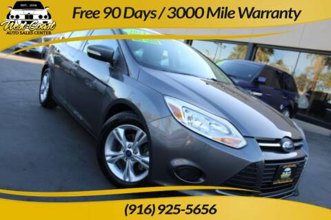 2014 Ford Focus for sale at West Coast Auto Sales Center in Sacramento CA