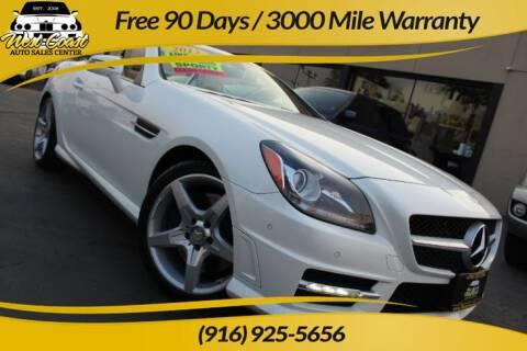 2013 Mercedes-Benz SLK for sale at West Coast Auto Sales Center in Sacramento CA