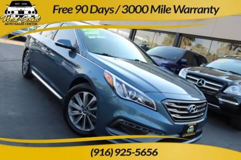 2016 Hyundai Sonata for sale at West Coast Auto Sales Center in Sacramento CA