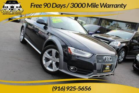 2014 Audi Allroad for sale at West Coast Auto Sales Center in Sacramento CA