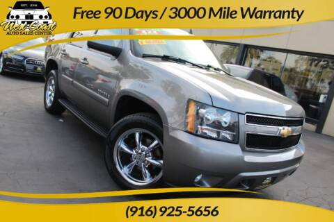 2007 Chevrolet Tahoe for sale at West Coast Auto Sales Center in Sacramento CA