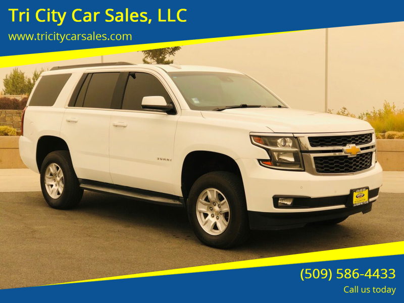 2015 Chevrolet Tahoe for sale at Tri City Car Sales, LLC in Kennewick WA
