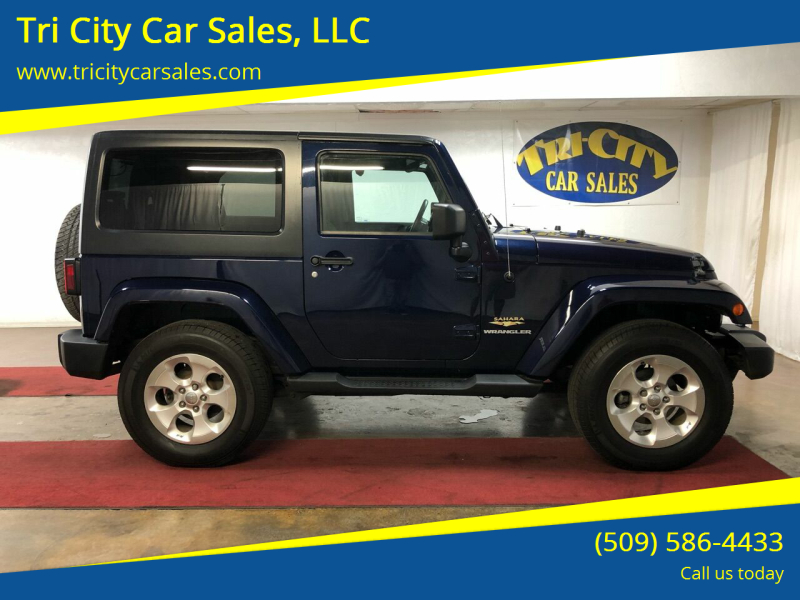 2013 Jeep Wrangler for sale at Tri City Car Sales, LLC in Kennewick WA