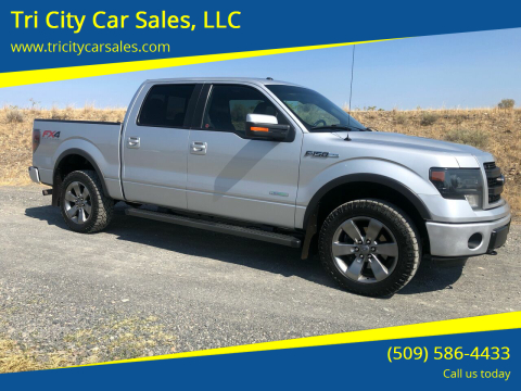 2013 Ford F-150 for sale at Tri City Car Sales, LLC in Kennewick WA