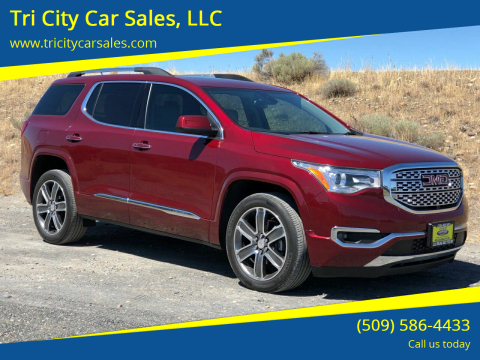 2017 GMC Acadia for sale at Tri City Car Sales, LLC in Kennewick WA