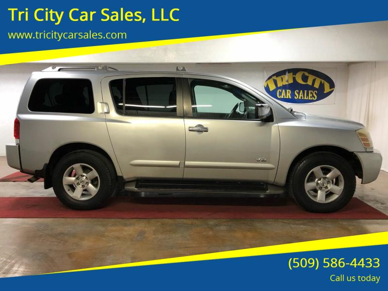 2005 Nissan Armada for sale at Tri City Car Sales, LLC in Kennewick WA