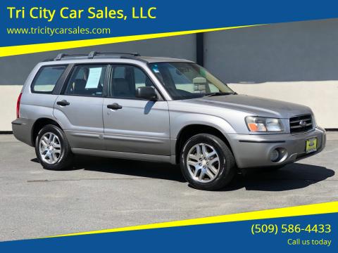 2005 Subaru Forester for sale at Tri City Car Sales, LLC in Kennewick WA