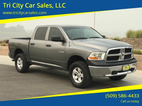 2010 Dodge Ram Pickup 1500 for sale at Tri City Car Sales, LLC in Kennewick WA