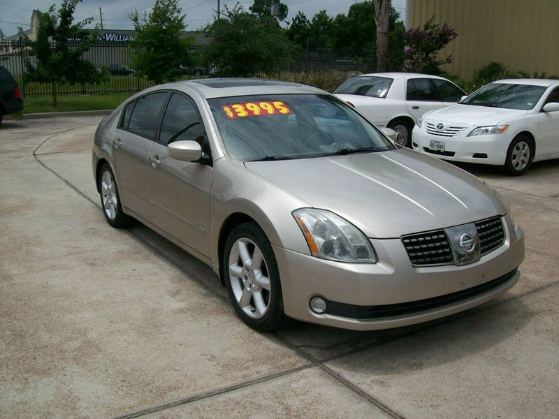 2005 nissan maxima 3 5 sl 4dr sedan in houston tx upland. Black Bedroom Furniture Sets. Home Design Ideas