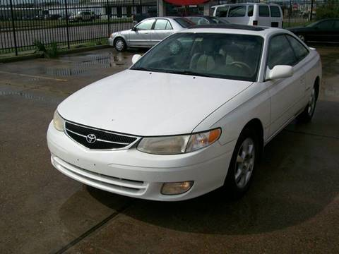 2001 Toyota Camry Solara for sale in Houston, TX