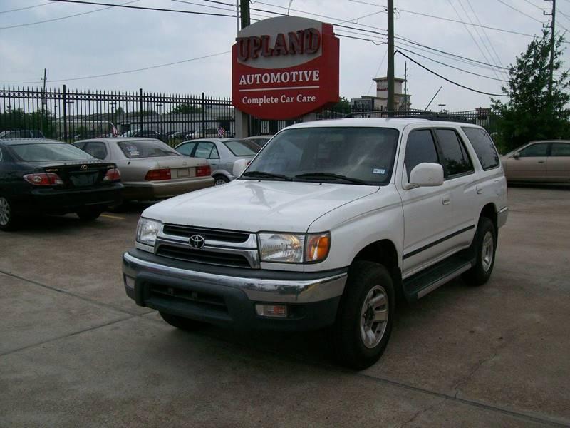 Nice 2002 Toyota 4Runner SR5 2WD 4dr SUV   Houston TX