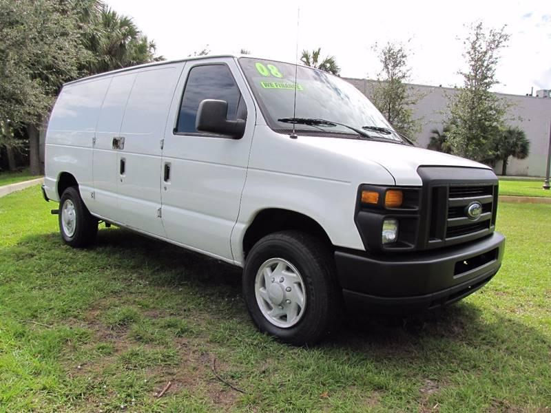 Van E Auto Sales Florida >> 2008 Ford E Series Cargo E 250 3dr Cargo Van In Oakland Park Fl