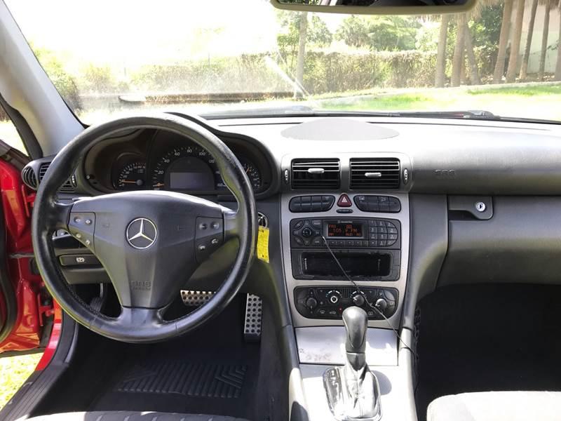 2004 Mercedes Benz C Class C 230 Kompressor 2dr Coupe In