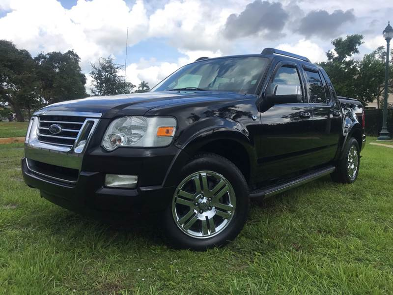 2007 Ford Explorer Sport Trac Limited 4dr Crew Cab V8 In Oakland