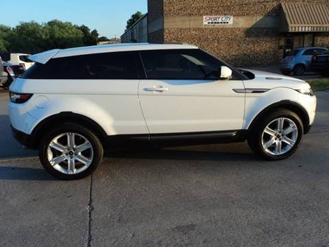 Used Range Rovers For Sale >> 2013 Land Rover Range Rover Evoque Coupe For Sale In Dallas Tx