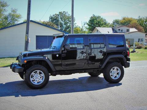 2013 Jeep Wrangler Unlimited for sale at X-Treme Powersports in Webb City MO