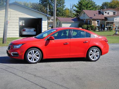 2016 Chevrolet Cruze Limited for sale at X-Treme Powersports in Webb City MO