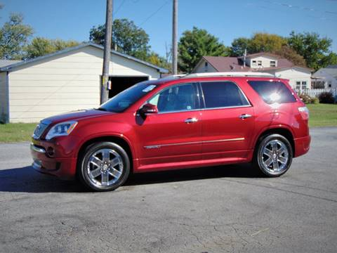 2011 GMC Acadia for sale in Webb City, MO