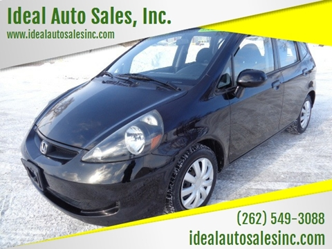 2008 Honda Fit for sale at Ideal Auto Sales, Inc. in Waukesha WI
