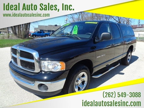 2004 Dodge Ram Pickup 1500 for sale at Ideal Auto Sales, Inc. in Waukesha WI
