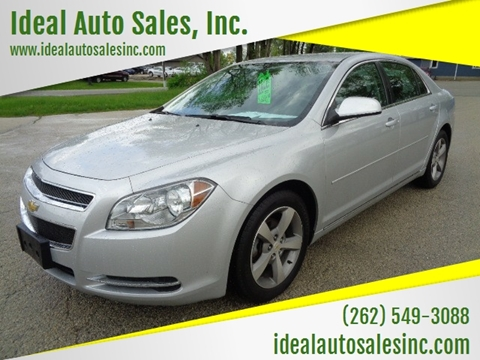 2011 Chevrolet Malibu for sale at Ideal Auto Sales, Inc. in Waukesha WI