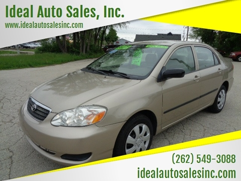 2008 Toyota Corolla for sale at Ideal Auto Sales, Inc. in Waukesha WI