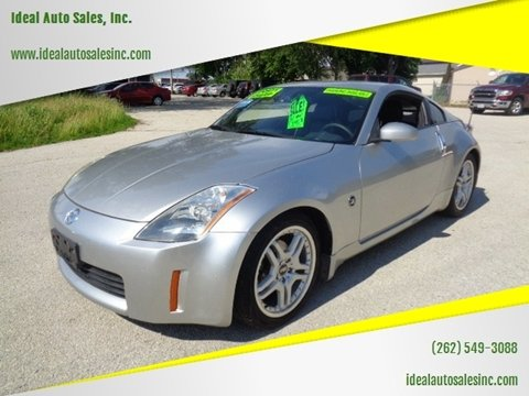 2003 Nissan 350Z for sale at Ideal Auto Sales, Inc. in Waukesha WI