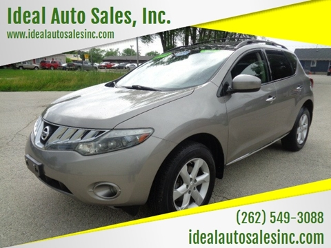 2009 Nissan Murano for sale at Ideal Auto Sales, Inc. in Waukesha WI