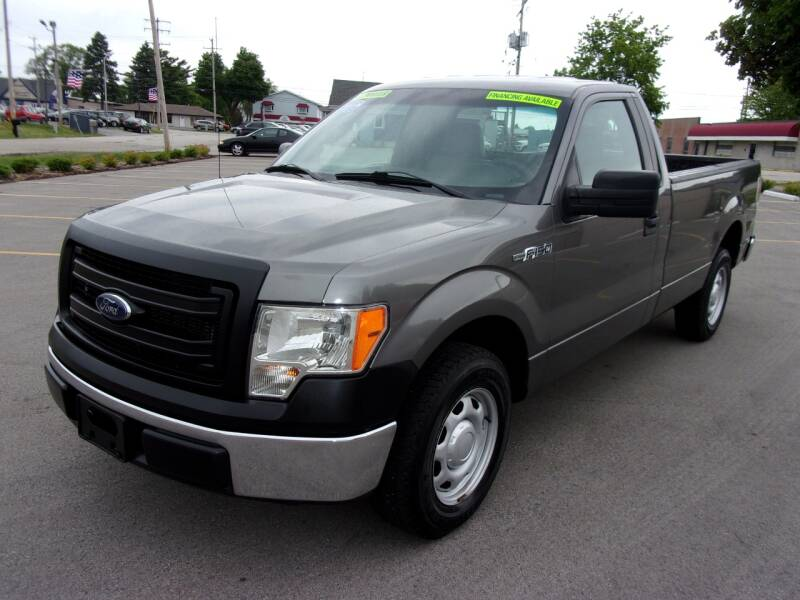 2014 Ford F-150 for sale at Ideal Auto Sales, Inc. in Waukesha WI