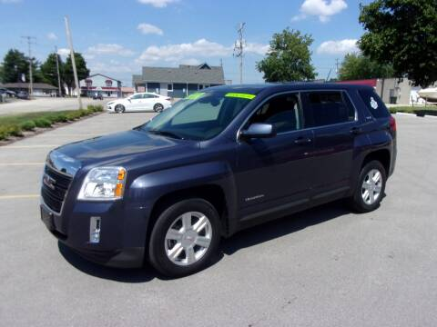2014 GMC Terrain for sale at Ideal Auto Sales, Inc. in Waukesha WI