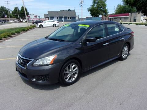 2013 Nissan Sentra for sale at Ideal Auto Sales, Inc. in Waukesha WI