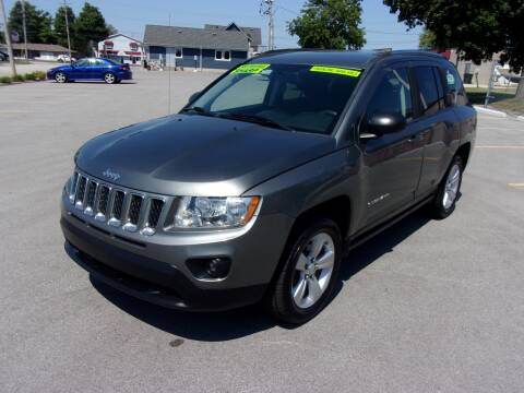 2012 Jeep Compass for sale at Ideal Auto Sales, Inc. in Waukesha WI